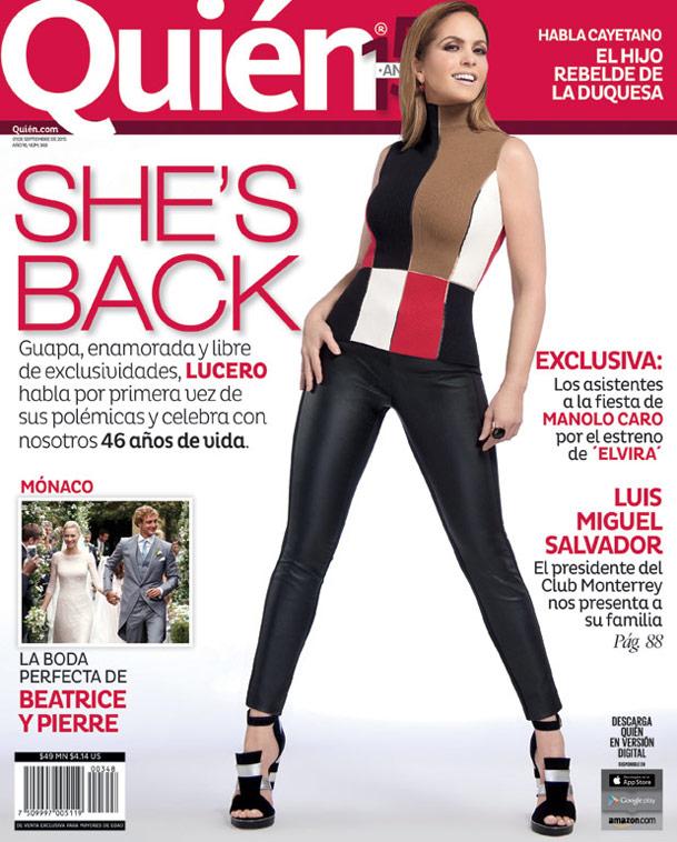 Lucero - Quien 2015