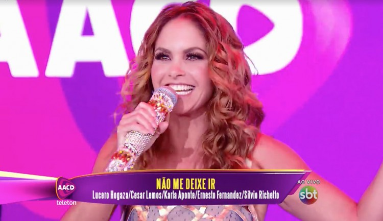Lucero - Teletón Brasil 2015