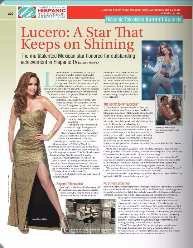 Lucero - Broadcasting Magazine