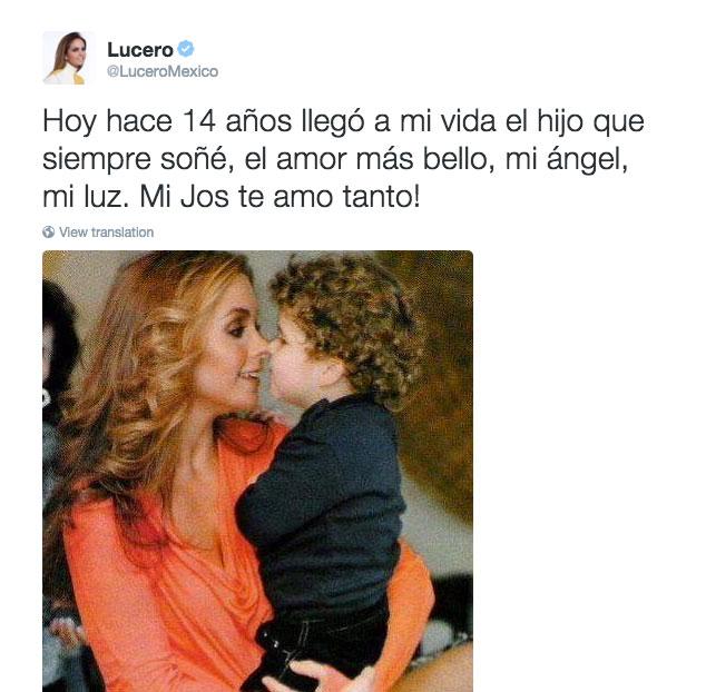 Lucero Tuit José Manuel