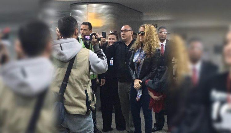 Lucero llega a BRasil