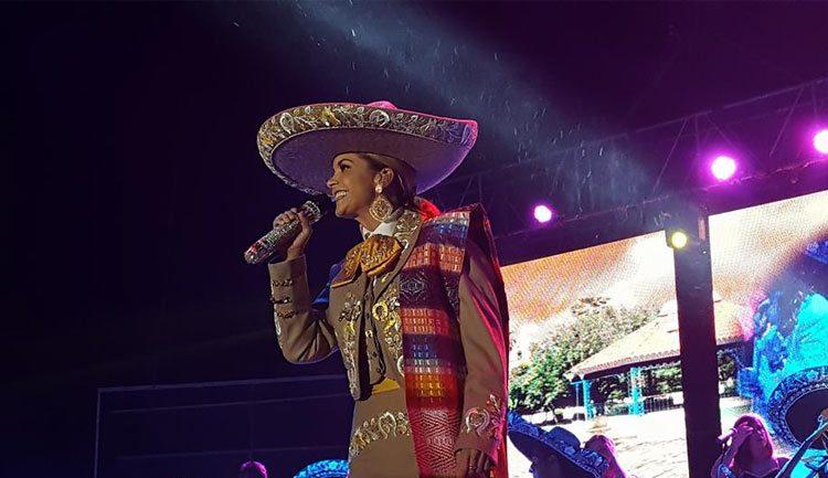 Lucero en la Feria de Chiapas