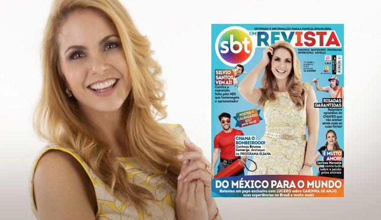 Lucero SBT em Revista