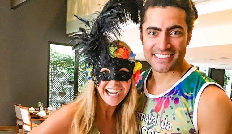 Lucero y Carlo Porto en Carnaval da Lucero