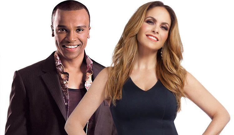 Lucero y Alexandre Pires dueto