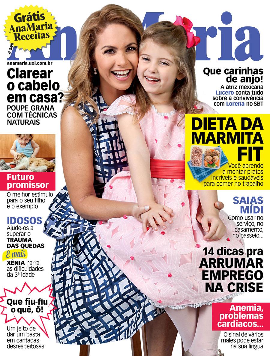 Lucero y Lorena Queiroz en la portada de Ana Maria