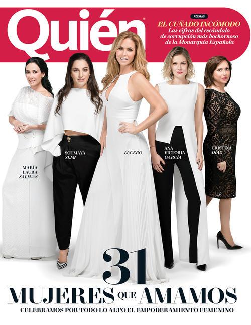 Lucero Revista Quien 2017