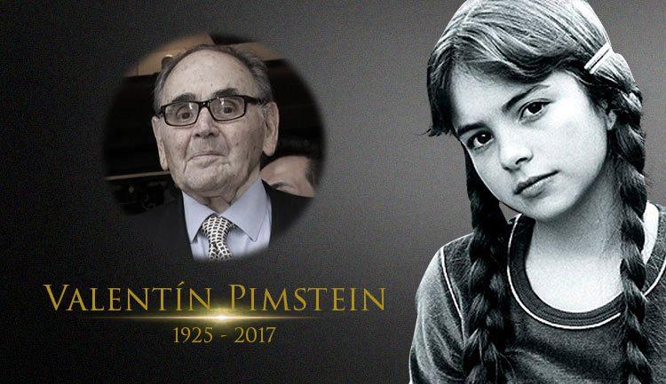 Lucero despide a Valentin Pimstein tras su muerte