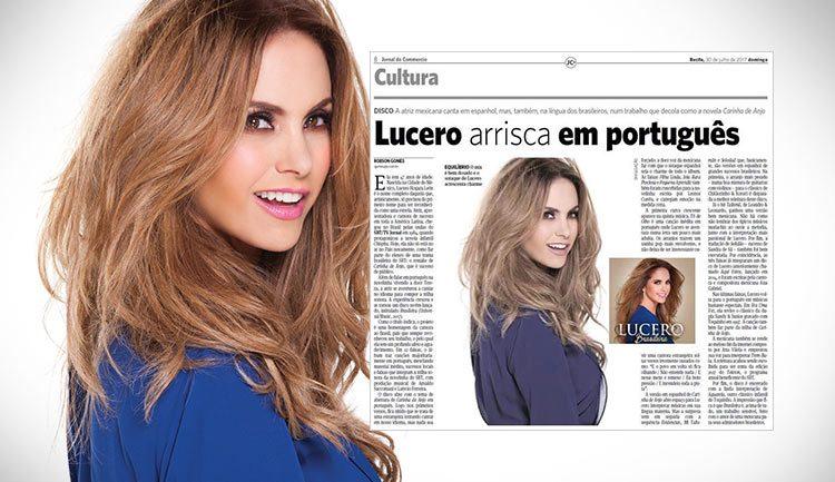 Lucero em Jornal do Commercio Brasil