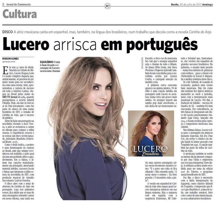 Lucero arrisca em portugues