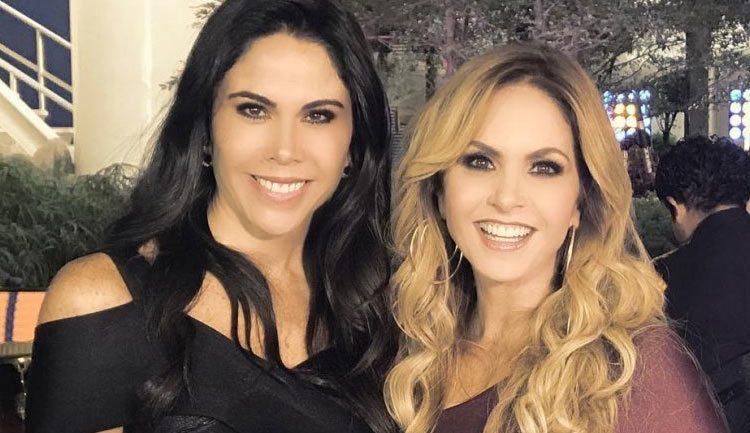 Lucero y Paola Rojas