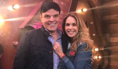 Lucero con Jessie Cervantes en EXA FM