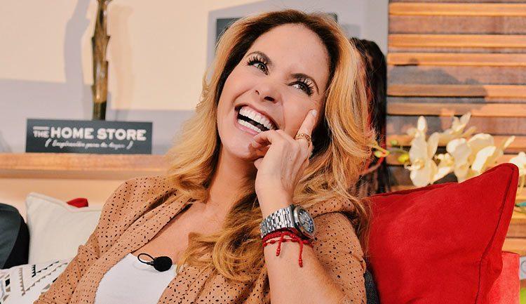 Lucero en Saga Live con Adela Micha