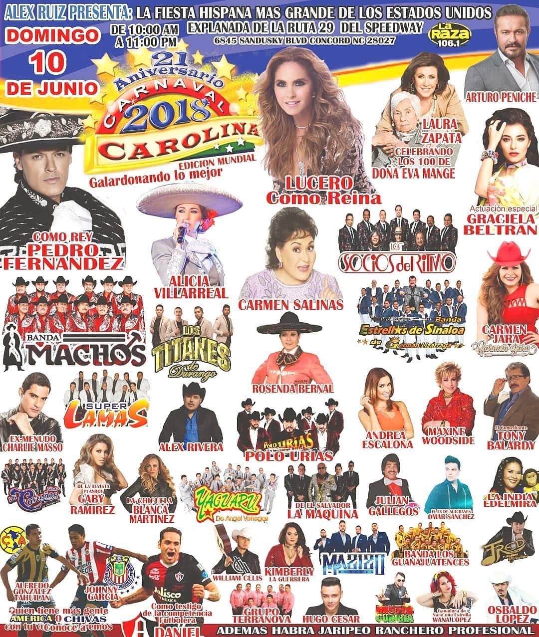 Lucero en Carolina 2018