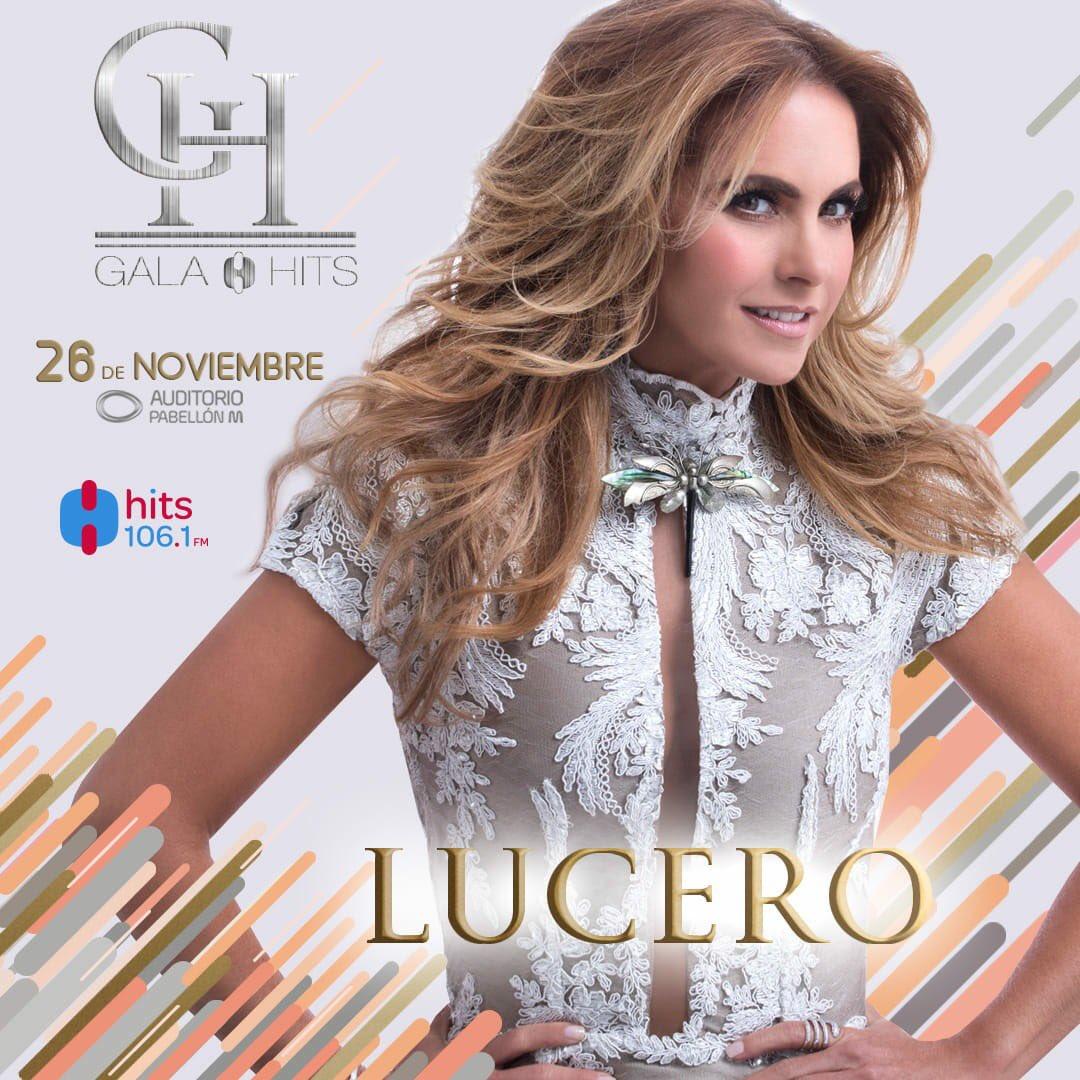 Lucero en Gala Hits 2018
