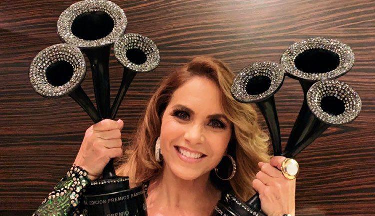 Lucero en Premios Bandamax
