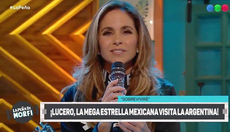 Lucero en Argentina