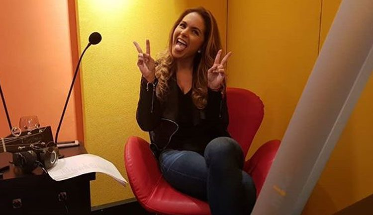 Lucero en Radio Latina BR