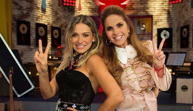 Lucero y Fanny Lu en La Voz Kids