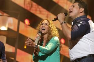 Lucero y Banda MS ensayan para Billboards