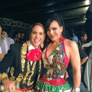 Lucero en el Zocalo 2016 Grito de Independencia