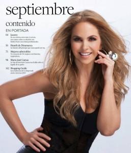 Lucero en la Revista Caras 2017