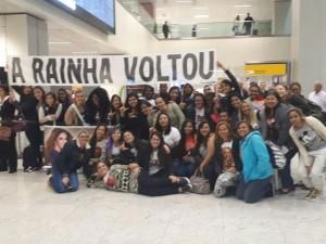 Lucero llega a Brasil para dar concierto en portugués