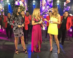 Lucero Al Aire con Paola Rojas en Televisa presentando Más Enamorada Con Banda su nuevo disco