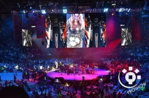 Lucero en concierto en El Palacio de los Deportes