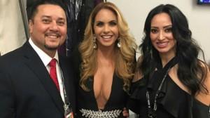 Lucero cantó el himno nacional mexicano en la pelea del Canelo Álvarez