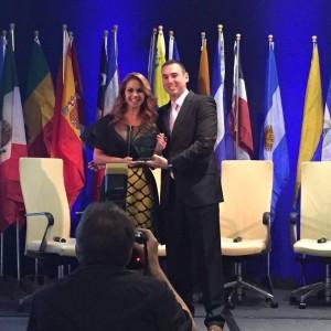 Lucero - Hispanic Television Summit Award