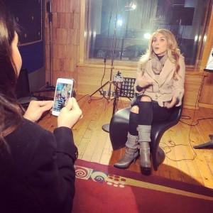 Lucero hace Facebook Live para Televisa Espectaculos