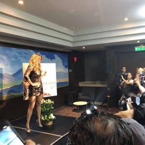 Lucero Más Enamorada Con Banda conferencia de prensa