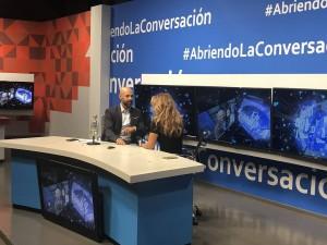 Lucero con Javier Poza
