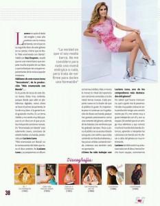 Lucero en la revista Soy Grupero 2018