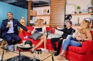 Lucero en Saga Live con Adela Micha, Napoleon y Jean Duverger