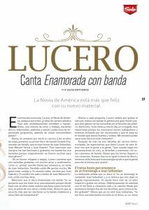 Lucero Revista Solo Sanborns 2017